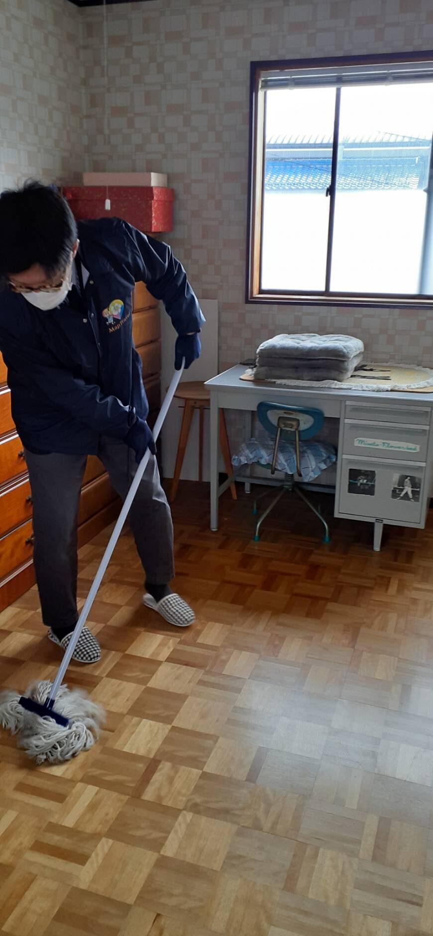水ふき掃除